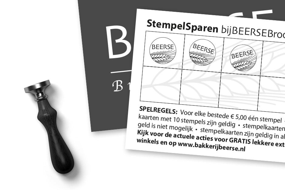 Stempelkaarten drukwerk Schagen drukkerij